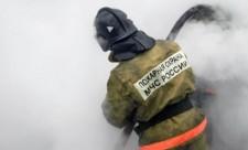 Пожар в Заволжье