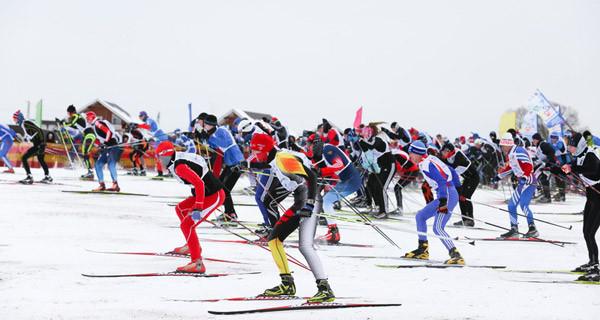 лыжня Заволжье
